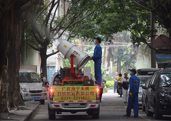 西乡塘灭蚊施工
